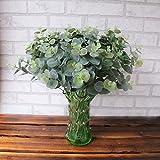 Künstlich Eukalyptus Verlassen, Lenfesh Fake Simulation Blätter Hochzeit Feier Zuhause Dekor...