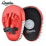 Queta Men's Pratzen,Sport wesentliche Gebogene Boxen, MMA, Kickboxen Muay Thai, Sparring Stanzen...