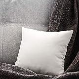 Dekokissen-Einsätze Hypoallergener Premium-Kissenfüller Quadratische Form für dekoratives Kissen-Bett-Couch-Sofa 17,7 x 17,7 Zoll Kopfteil Kissenkern Vliesstoff mit Wollstoffkissen (45x45cm)
