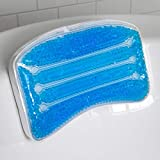 SpaLife Spa Life Non-Slip Cooling Gel Bath Pillow with Suction Cups Hals and Shoulders