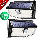 300 LED Solarlampen für außen【Deluxe Version】, LITOM solarleuchten für außen, solarlampen...
