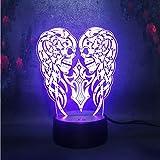 Scary schädel doppelkopf modell 3d led lava lampe weihnachten halloween party decor kind geschenk...