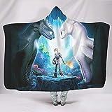 EPLstar Überwurfdecke für Bett oder Couch How to Train Your Dragon5, superweich, groß, für alle...