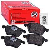 Zimmermann 23914.170.1 Bremsbelagsatz, Hinten, 8 Federn mit Vorbereitung Sensoren, inklusive...