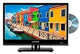MEDION E11682 39,6 cm (15,6 Zoll) HD Fernseher (HD Triple Tuner, DVB-T2 HD, DVD-Player integriert,...