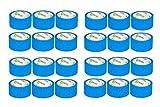 V1 Trade - Malerband - Blue Tape, UV-Beständig Wasserdicht Outdoor Blau Kreppband Malerkrepp (50 mm x 25 m (24 Stück))