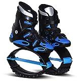 YLOVOW Air Kicks Anti-Gravity Laufschuhe Unisex Fitness Jump Schuhe Bounce Schuhe,Blau,40