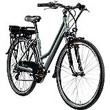 Zündapp E Bike 700c Trekkingrad Damen Pedelec Z802 Elektrofahrrad 21 Gänge 28 Zoll Rad...