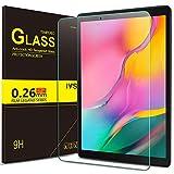IVSO Displayschutz für Samsung Galaxy Tab A T515/T510 10.1 2019, 9H Härte, 2.5D, Displayfolie...