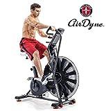 Schwinn Airdyne AD8, Profi-Fitnessbike mit grenzenlosem Luftwiderstand, LCD-Konsole mit...