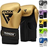 RDX Boxhandschuhe Kinder für Muay Thai & Training | Convex Leder Punchinghandschuhe | Gut für...