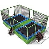 KY Outdoor Garten Trampolin Indoor-Trampolin for Kinder CE-zertifiziertes Kommerzielles...