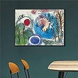 adgkitb canvas Leinwand Abstrakte Wohnkultur Bild Modernes Gedrucktes Plakat Für Wohnzimmer...
