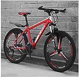 CDFC 24-Zoll-Mountainbikes, Mens-Frauen-Carbon Steel Fahrrad, Antrieb All Terrain Mountain Bike mit...