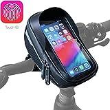 Velmia Fahrrad Lenkertasche [Wasserdicht] - Fahrrad Handyhalterung ideal fürs Navi - Fahrradtasche...