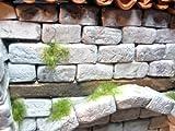 250 rechteckige Ruinen-Bausteine für Krippenbau, LGB Gartenbahn etc.