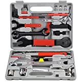 LARS360 44 TLG. Fahrrad Reparaturset Werkzeugkoffer Fahrrad Werkzeug Bike Tool Set...