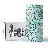 Balance Roll Faszienrolle incl. Anleitung mit Übungsbeispielen (Härtegrad Standard) Faszien Rolle...