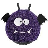 John 59576 Hopper Ball Fledermaus Hüpfball Sprungball, lila schwarz, 45 cm