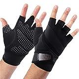 BOILDEG Fitnesshandschuhe,Trainingshandschuhe mit voller Handgelenkstütze,Ideal zum...
