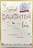 Tochter Geburtstag Karte mit besonderen Alter 18. 21. 40. 50. Hope Heute bringt sie alle Sie...