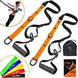 MTRIP Schlingentrainer Sling Trainer Set mit Türanker Slingtrainer Suspension Trainer...