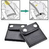 WENTS Auto-Sicherheitsgurt-Versteller - 2 Pack Sicherheitsgurt-Positionierer zum Relaxen des...