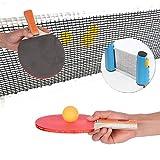 ZHLONG Tischtennisplatte, für Kinder und Erwachsene, mit zwei Billard Spielen, inklusive komplettem...