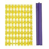 GA Alphabet Zahlen Keks Buchstaben Stempel Form Dekoration Fondant DIY Werkzeug für Küche