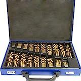 SAILUN® Metallbohrer Set 170-teilig Metallbohrersortiment HSS geschliffen, Split Point...