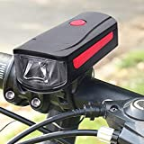 zhenxin Fahrradbeleuchtung LED Fahrradlicht Led Cycling Lampe Bike Frontlicht mit Alarmfunktion...