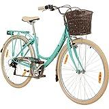 Galano 28 Zoll Valencia 6 Gang Citybike Stadt Fahrrad Damenrad Damenfahrrad, Rahmengrösse:19 Zoll,...