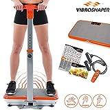 Mediashop VibroShaper, Vibrationsplatte, Ganzkörper Training | 3 Stufen, 99 Geschwindigkeiten,...