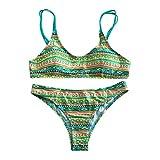 jieGorge Damen Badeanzug Räumungsverkauf , Damenmode Sexy Print Bikini Set Brasilianische...