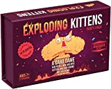 Exploding Kittens EKG-PP-1 Party Pack Kartenspiel - Family-Friendly Party Games - Card Games for Adults, Teens & Kids - (Englische Version)