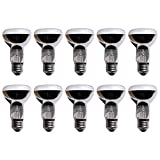 10 x Reflektor Glühbirne R63 40W E27 matt Glühlampe Glühbirnen warmweiß 2700K dimmbar (40 Watt)