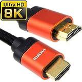 HDMI v2.1 Ultra Hoch Geschwindigkeit HDR 8K 4K 60Hz 48Gbps Leistungs Kabel 2 m Kupfer