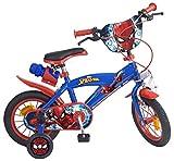 12 12'Zoll Kinderfahrrad Kinder Disney Jungen Fahrrad Rad BMX Spiderman Bike ES