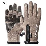 mdsfe Fleece Touchscreen wasserdicht kalt Winddichte Handschuhe Männer und Frauen warmes Motorrad...