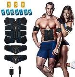 ISUDA EMS Trainingsgerät Bauchmuskeltrainer Training Muskelaufbau Elektrostimulation Fitness...