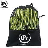 LUMINARY FOR YOU Tennisbälle 15 Stück inklusive Mesh-Tragetasche Tennisbälle perfekt für das...