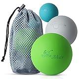 Bomb-Ball Massage Ball Set - Faszien + Lacrosse Bälle für ultimative Muskelentspannung,...