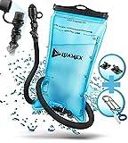 Luamex Trinkblase 2L - Wasserblase – BPA frei - Trinksystem mit On/Off Ventil, isoliertem...