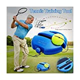 Voberry New Tennisball Trainer Tennis Baseboard mit Einem Seil und 1 Trainingsball Tennis...