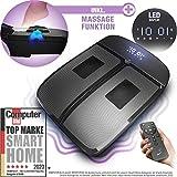 Sportstech VX350 2in1 Vibrationsplatte | Vibration und Massage im Edlen Design | 3D Vibrationen...