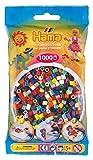 Hama 207-67 - Bügelperlen im Beutel, ca. 1000 Stück, Volltonmix (22 farben)