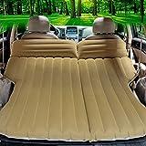 CYOUZHE Auto Aufblasbares Bett/Weiche Beflockung Campingmatten Urlaub Auto Zubehör Portable Falten...