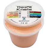 TheraPIE Knete, 454 Gramm (1 Pound), Therapie Knetmasse, Stärke Widerstand: sehr weich (hell-beige)
