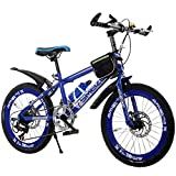 Unbekannt Mountainbike-Doppelscheibenbremse 20 Zoll 22 Zoll 24 Zoll High-Carbon Stahl 7...