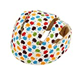 Paperllong Baby-Sicherheits-Helme Baumwollsäuglingsschutz Hut Kopfschutz für Neugeborene Junge...